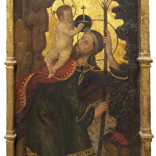 Anònim - Sant Cristòfol - Cap a 1500