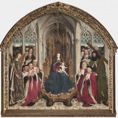 Lluís Dalmau - Mare de Déu dels Consellers - 1443-1445