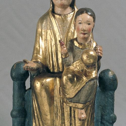 Anònim - Mare de Déu d'Olopte - Primer quart del segle XIII