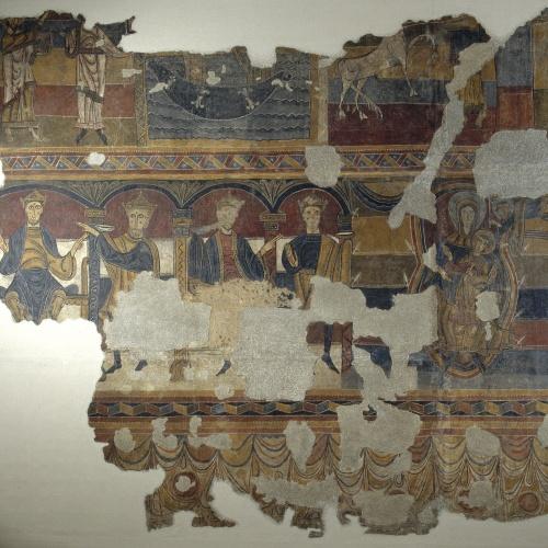 Mestre del Judici Final - Escenes bíbliques de Santa Maria de Taüll - Després de 1123 [8]