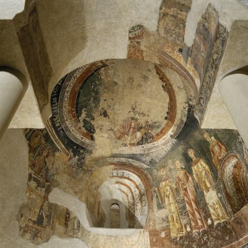 Mestre de Pedret - Pintures de Pedret - Finals del segle XI – inicis del segle XII