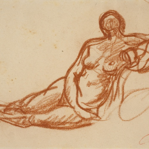 Ricard Canals - Female nude - Circa 1920