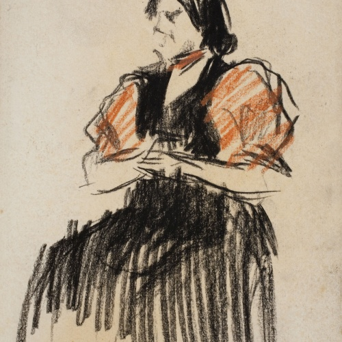 Ricard Canals - Woman seated - Circa 1910
