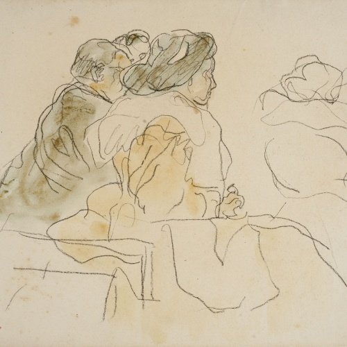 Ricard Canals - Seated figures - Circa 1900-1910