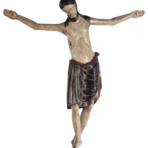 Anònim - Christ Crucified - End of the 13th century