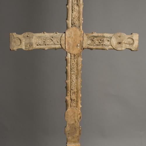Anònim - Creu d'un Calvari - Primera meitat del segle XIII