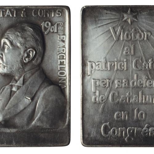 Eusebi Arnau - Homenaje al doctor Bartomeu Robert, diputado en las Cortes - 1901