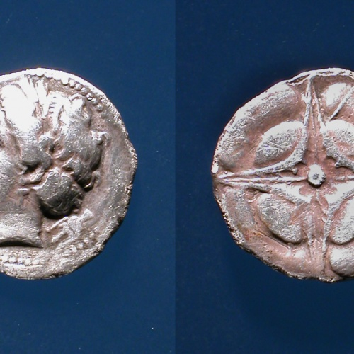 Rhode - Dracma de Rhode - 270-260 aC