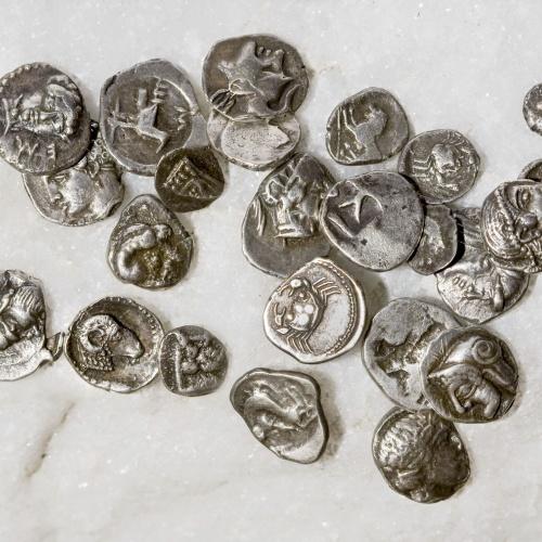 Diverses autoritats - Tresor de Pont de Molins - 475-350 aC