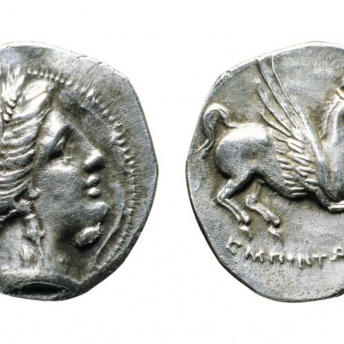 Emporion - Dracma - Finals del segle III aC