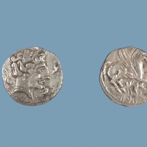 Orose - Dracma ibèrica d'imitació - Finals del segle III aC
