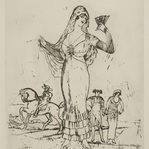 Ismael Smith - Viva tu mare. Spanish atmosphere - 1913