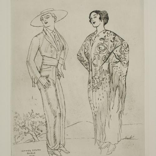 Ismael Smith - Parella andalusa - 1914