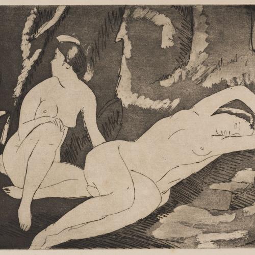 Juli González - Dos nus en repòs (Deux nus au repos) - 1927
