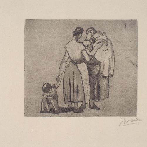 Juli González - Mares i fills (Mères et enfants) - 1927