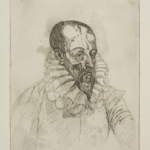 Ismael Smith - Portrait of Cervantes - Circa 1924-1925