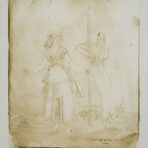 Ismael Smith - Escogiendo toros - 1919