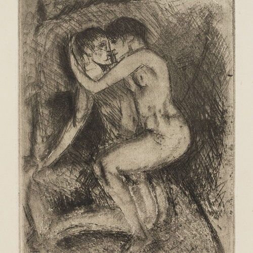 Ismael Smith - Parella abraçada - Cap a 1933