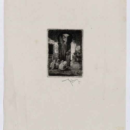 Marià Fortuny - Tangier - Circa 1861