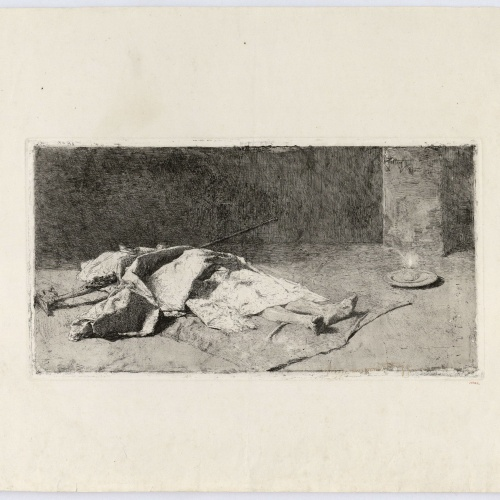 Marià Fortuny - Dead Kabyle - 1867