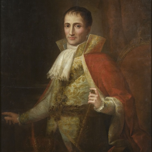 Josep Bernat Flaugier - Retrat del rei Josep I - Cap a 1809