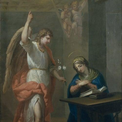 Josep Bernat Flaugier - Annunciation - Barcelona, circa 1800