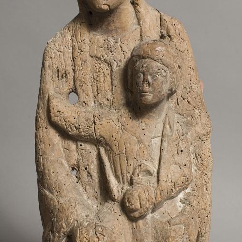 Anònim - Mare de Déu d'un retaule - Primera meitat del segle XIII
