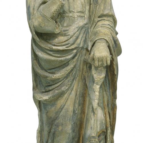 Mestre d'Anglesola - Arcàngel sant Gabriel - Cap a 1330