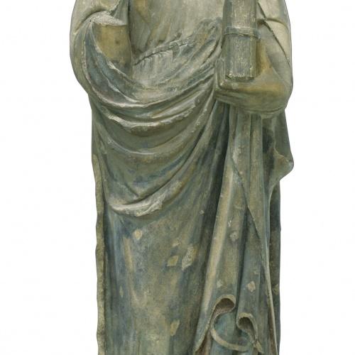 Mestre d'Anglesola - Mare de Déu - Cap a 1330