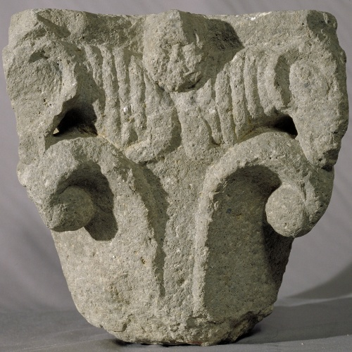 Anònim - Capital from Sant Miquel de Fluvià - First third of the 12th century