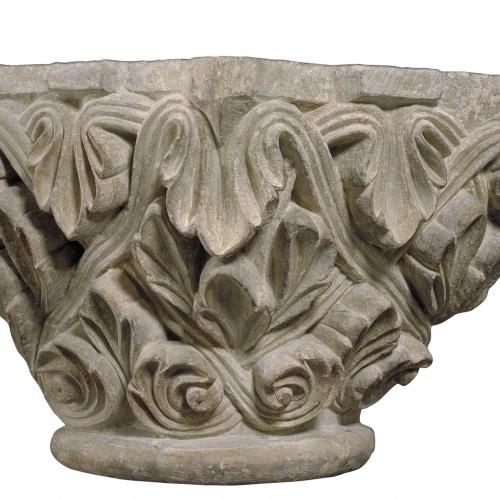 Anònim - Capital from the apse of Camarasa - Last quarter of 12th century