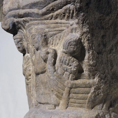 Anònim - Capitell historiat. Anunciació - Primera meitat del segle XIII