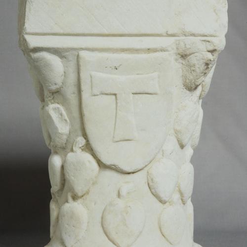 Anònim - Capitell de la catedral de Tarragona - Segona meitat del segle XIII