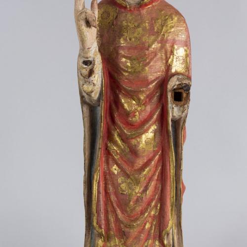 Anònim. Aragó - Retaule-tabernacle de sant Nicolau - Primera meitat del segle XIV [1]