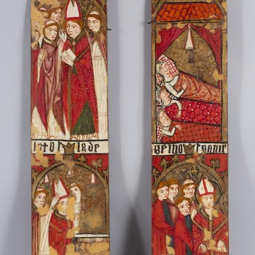 Anònim. Aragó - Retaule-tabernacle de sant Nicolau - Primera meitat del segle XIV [3]