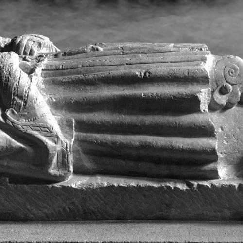 Anònim. Castella - Imatge jacent del cavaller Méndez - Primer quart del segle XVI