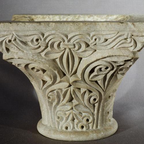 Anònim - Capitell de Sant Pere de Rodes - Segona meitat del segle XII-primer quart del segle XIII