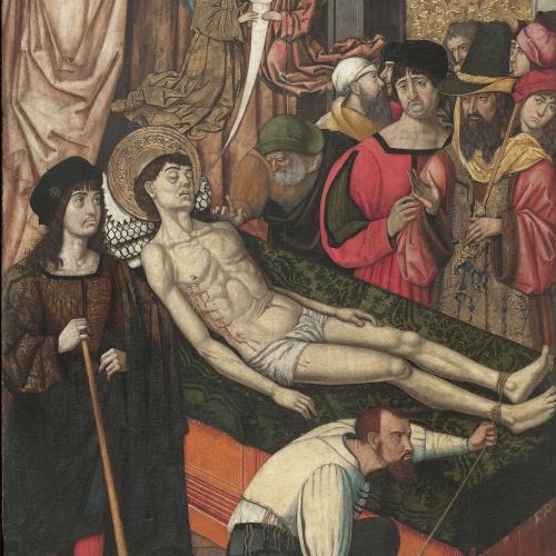 Mestre de Castelsardo - Mort de sant Vicenç - Entre 1500-1510
