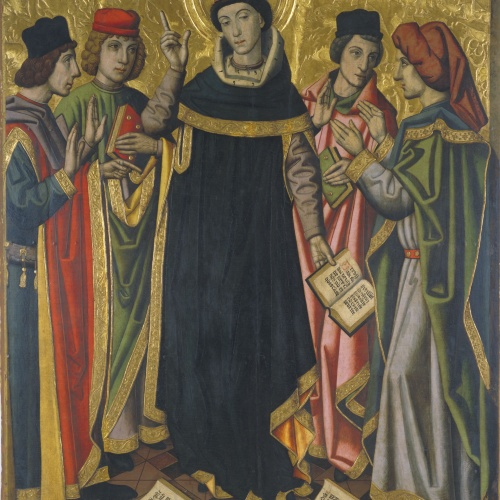 Grup Vergós - The Conversion of Saint Augustine - Circa 1470/1475-1486