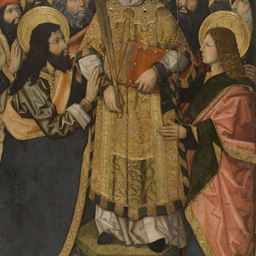 Grup Vergós - Saint Stephen's Glorification - 1495-1500
