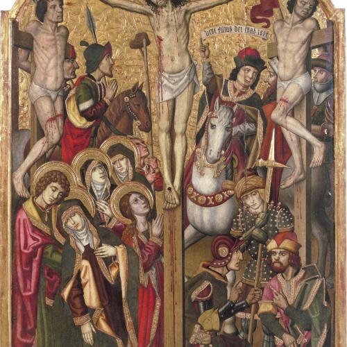 Grup Vergós (Pau Vergós [?]) - Calvari - 1492/1494-1500