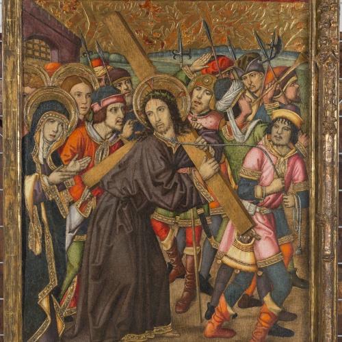 Grup Vergós - Camí del Calvari - Cap a 1495-1500