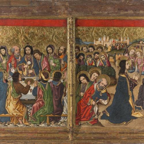 Grup Vergós - Sant Sopar. Oració a l'hort - Cap a 1495-1500