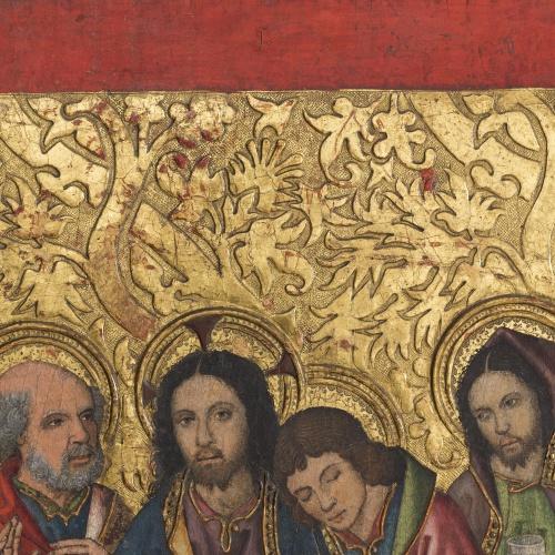 Grup Vergós - Sant Sopar. Oració a l'hort - Cap a 1495-1500 [1]