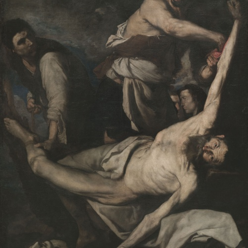 "Josep de Ribera o Jusepe de Ribera dit ""Lo Spagnoletto"" - Martiri de sant Bartomeu - 1644"
