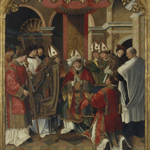 Pere Nunyes - Consagració episcopal de sant Eloi - 1526-1529