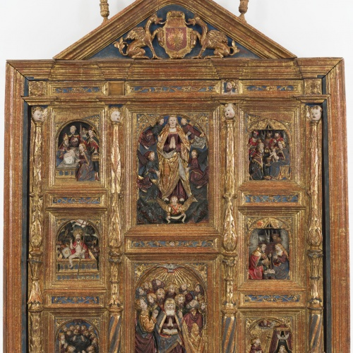 Anònim - Joys of the Virgin Altarpiece - Between 1540-1560