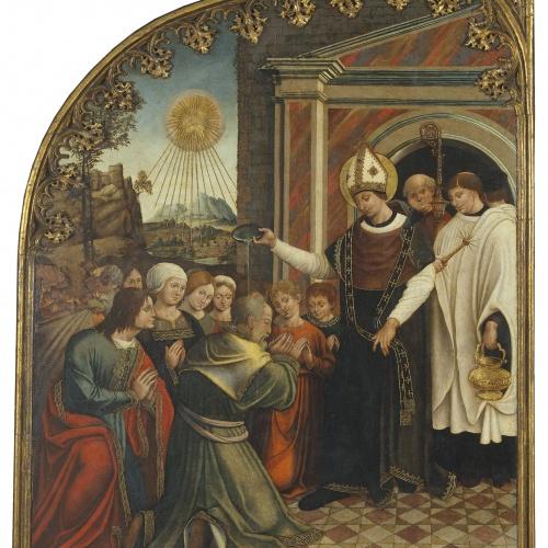 Pere Nunyes - Sant Eloi bateja els infidels - 1526-1529