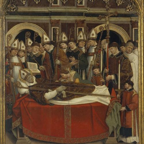 Pere Nunyes - Mort de sant Eloi - 1526-1529