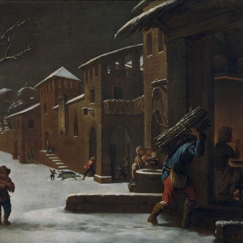 Antoni Viladomat - L'hivern - Entre 1730-1755